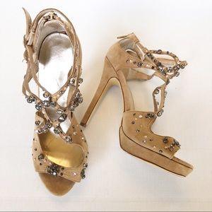 Boston Proper High Heel Strappy Sandals